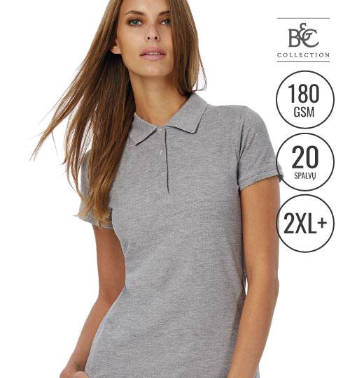 Polo marškinėliai Safran Timeless/women 508.42 PW457 B&C