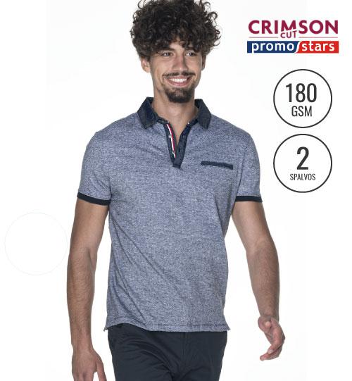 Polo marškinėliai Shot 42290 CRIMSON CUT PROMOSTARTS