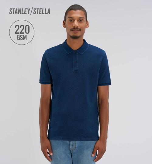 Polo marškinėliai Stanley Stella Dedicator Denim STPM 564 men