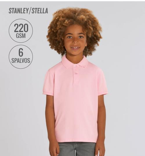 Polo marškinėliai Stanley Stella Mini Sprinter STPK 908 kids