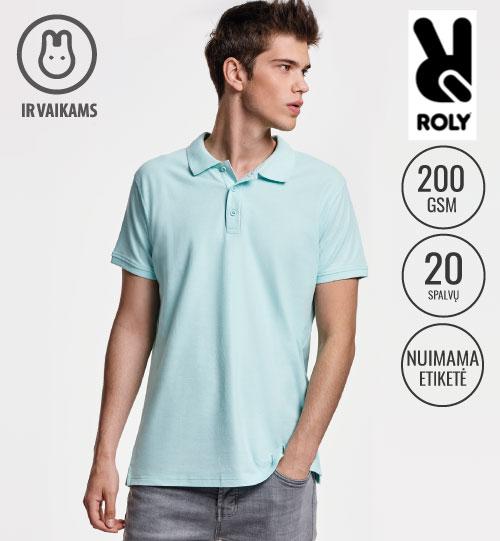 Polo marškinėliai STAR MEN 6638 ROLY