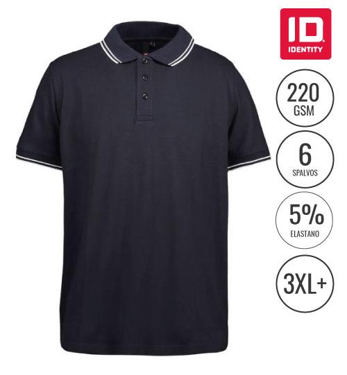 Polo marškinėliai Stretch contrast Men's  0522 ID IDENTITY