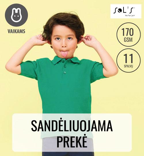 Vaikiški Polo Marškinėliai  SUMMER II KIDS 11344 SOL'S