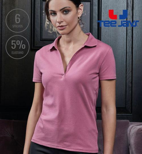 Polo marškinėliai Women's Luxury Stretch V Polo 502.54 1409 TEE JAYS