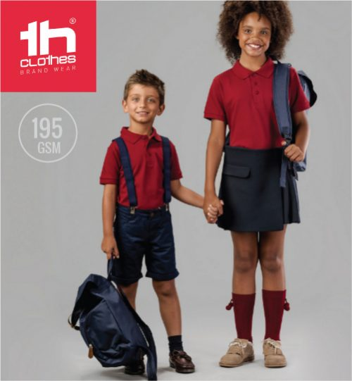 TH Polo marškinėliai TH Clothes Adam kids