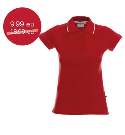 IŠPARDAVIMAS Promostars Polo marškinėliai Line Ladies 42283