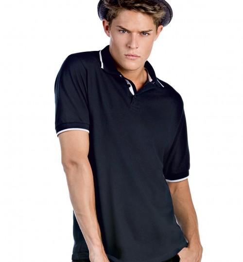 Polo marškinėliai B&C SAFRAN SPORT > PU413