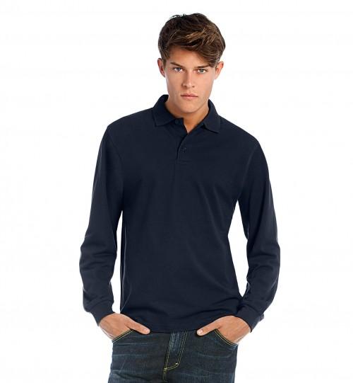 Marškinėliai B&C HEAVYMILL LSL > PU423