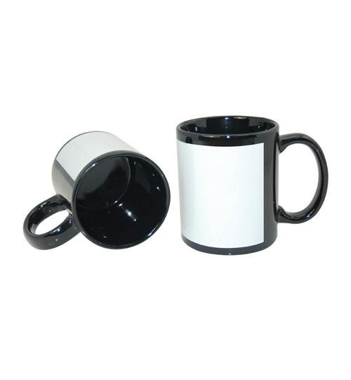Sublimaciniai puodeliai PATCH su baltu langeliu