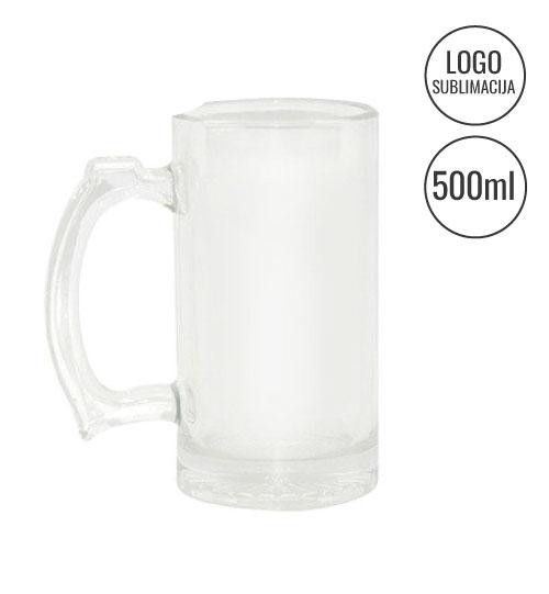 Stiklinis puodelis Mug Sublimation EU-BN1C