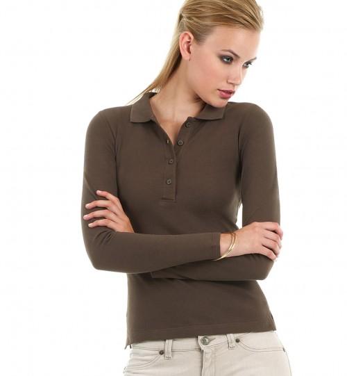 Polo marškinėliai BC Safran LSL/women