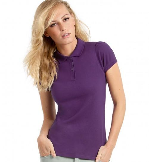 Polo marškinėliai B&C HEAVYMILL /WOMEN > PW460