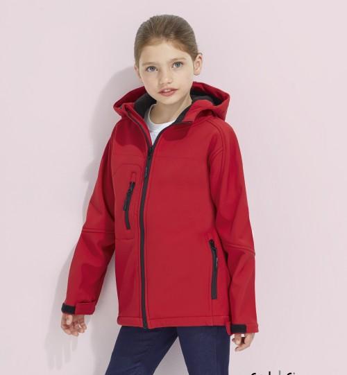 Minkštas džemperis vaikams su gobtuvu Sols Replay Kids 46603
