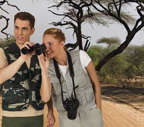 Liemenė su daug kišenių Valento Safari