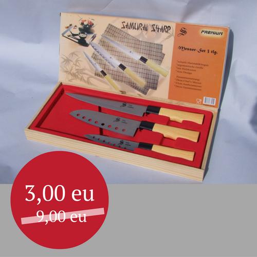 """Nerūdijančio plieno peilių rinkinys """"Samurai Sharp"""""""