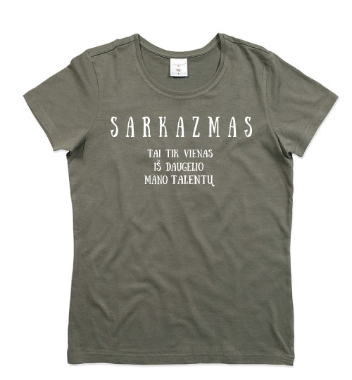 Marškinėliai su užrašais
