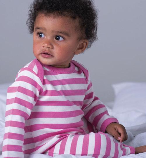 Smėlinukas Baby Striped Rompasuit BZ13S 035.47