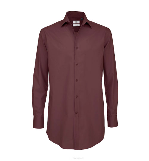 Marškiniai  Black Tie LSL/Men SM P21 B&C