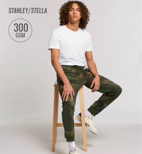 SS Sportinės kelnės Stanley Stella Mover AOP STBM 570 men