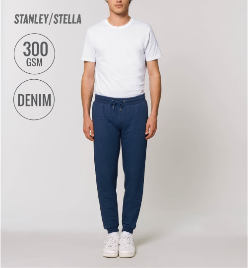 Sportinės kelnės Stanley Stella Stepper Denim STBM 313 Jogger pants men