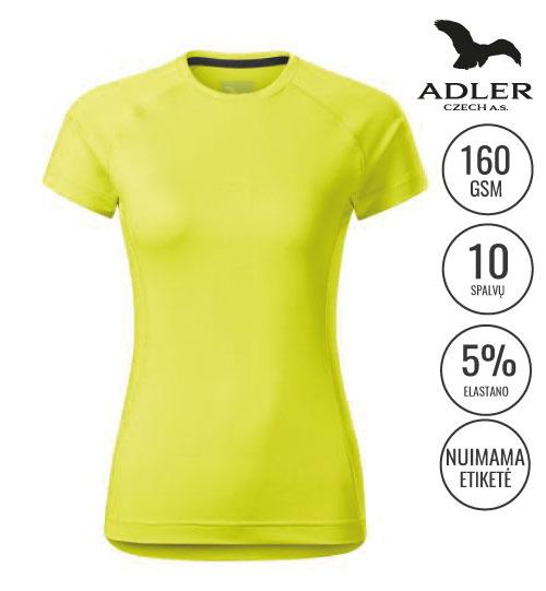 Sportiniai marškinėliai Destiny women 176 ADLER MALFINI