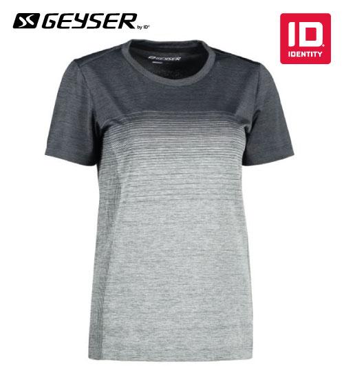 Sportiniai marškinėliai Women seamless striped s/s T-shirt G11024 ID IDENTITY