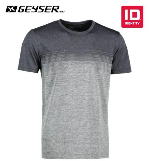 Sportiniai marškinėliai Man seamless striped s/s T-shirt G21024 ID IDENTITY