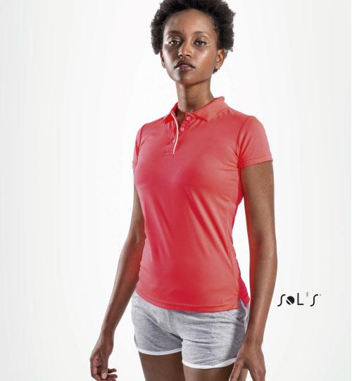 Sportiniai marškinėliai Performer Woman 01179 SOLS