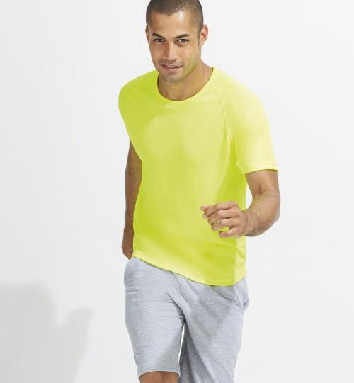 Marškinėliai sportui vyrams SPORTY  Sols 11939