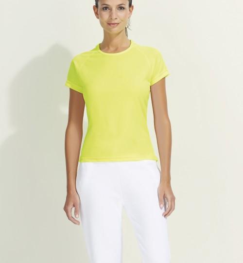 Marškinėliai sportui  moterims SPORTY Sols 01159