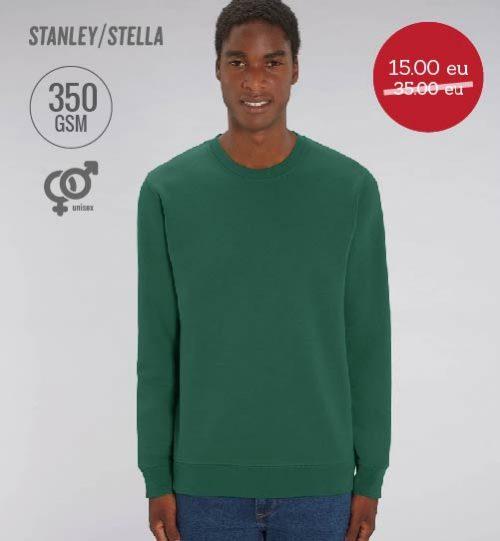 IŠPARDAVIMAS Džemperis Stanley Stella CHANGER STSU 823 unisex