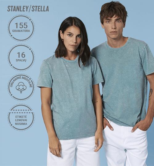 Marškinėliai Stanley/Stella Creator Vintage STTU 831 Unisex