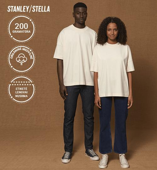 Marškinėliai Stanley/Stella Blaster STTU 815 Unisex