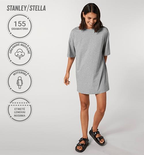 Marškinėliai/suknelė Stanley/Stella Lietuva Stella Twister STDW 141 Women