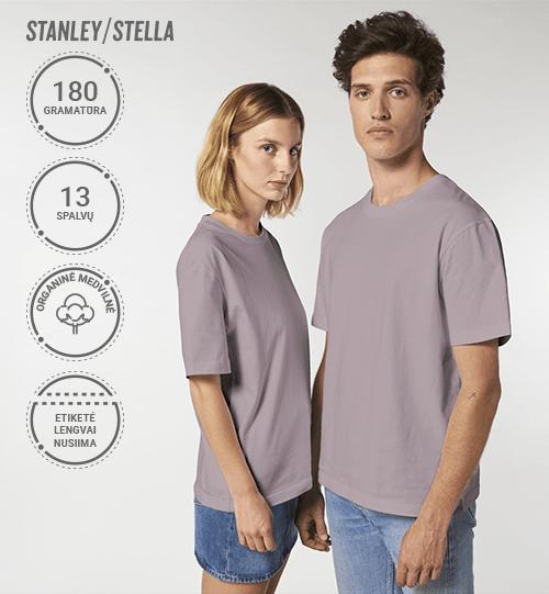 Marškinėliai Stanley/Stella Lietuva Fuser STTU 759 Unisex