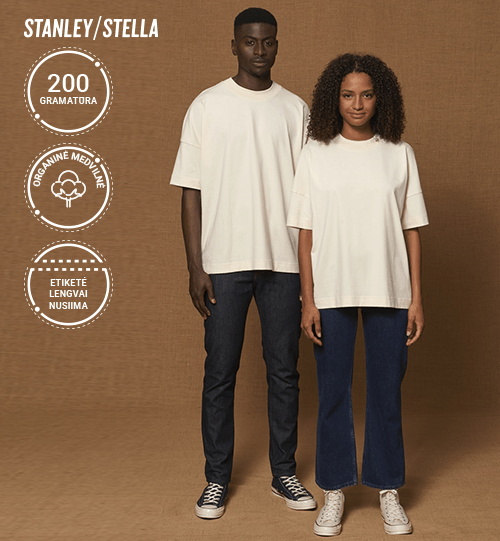 Marškinėliai Stanley/Stella Lietuva Blaster STTU 815 Unisex