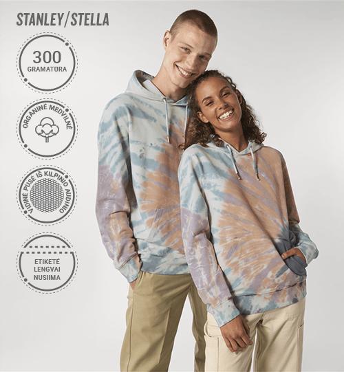 Džemperis Stanley/Stella Cruiser Tie and Dye STSU 854 Unisex