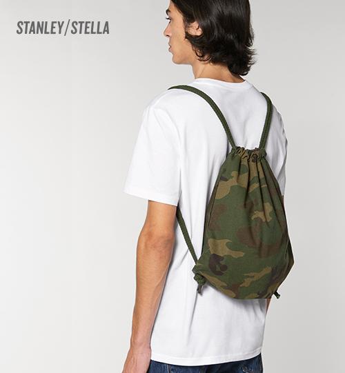 Kamufliažinis sportinis maišelis Stanley Stella Gum Bag AOP STAU769 Unisex
