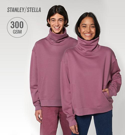 Džemperis su aukšta apykakle Stanley Stella Strider STSU850 Unisex