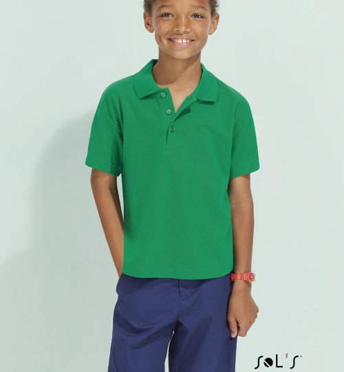 Polo marškinėliai SOLS Summer II Kids 11344