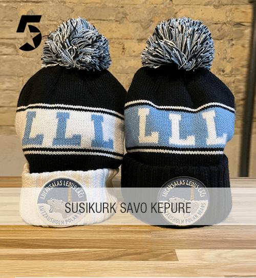 Susikurk savo originalaus dizaino žieminę kepurę