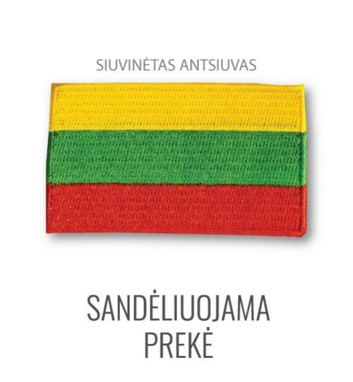 "Siuvinėtas antsiuvas ""Lietuvos vėliava"""