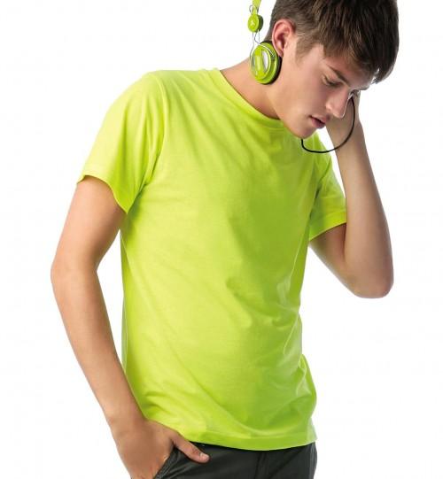 Marškinėliai B&C MEN-ONLY PC > TM250
