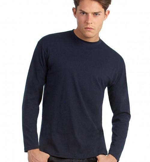 Marškinėliai vyrams B&C EXACT 150 LSL > TU003