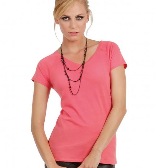 Marškinėliai B&C BLONDIE CLASSIC /WOMEN > TW260