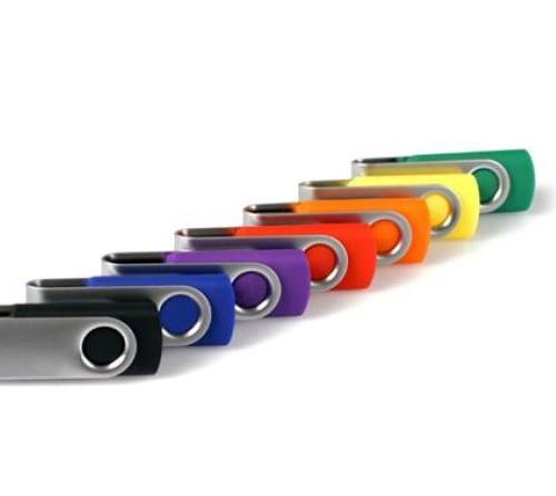 Platus USB laikmenų pasirinkimas