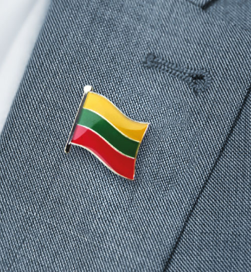 Ženklelis Lietuvos vėliava