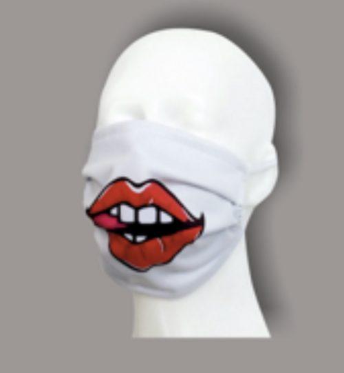 Dviejų sluoksnių antibakterinė kaukė