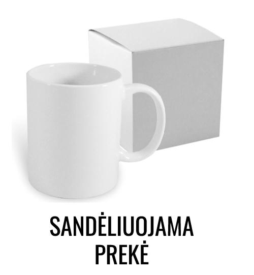 Baltas sublimacinis puodelis