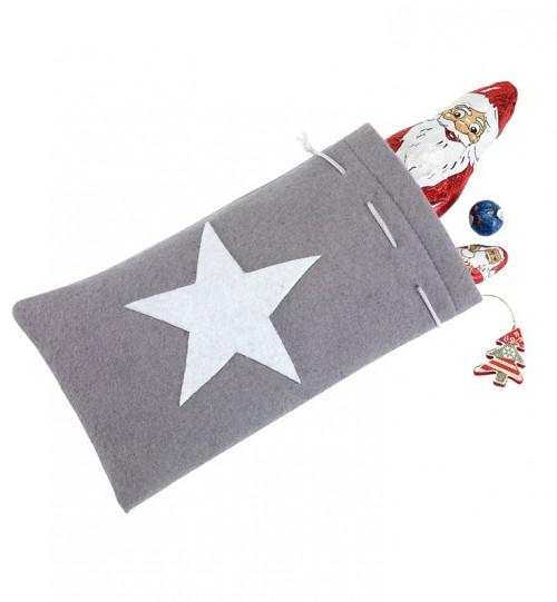 """Kalėdinis dovanų maišelis """"White shine"""" 56-0902356"""